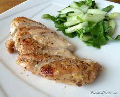Pollo ahumado #Recetas #RecetasFáciles #Cena #CenaLigera #Dinner #Pollo