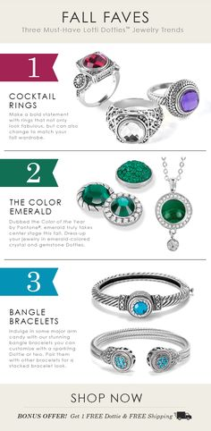 FALL FAVES Must-Have Lotti Dotties Jewelry Trends Jewelry Trends, Jewelry Accessories, Fashion Accessories, Cute Jewelry, Jewelry Gifts, Lottie Dottie, Ginger Snaps Jewelry, Color Of The Year, Moon Child