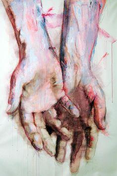 art painting hands contemporary art artwork acrylic paintings fine art behance…
