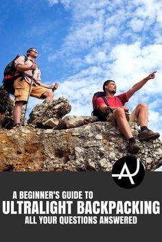 Ultralight Backpacking - Hiking Tips For Beginners – Backpacking Tips and Tricks for Women and Men via camping desserts, camping camping, camping needs Camping Guide, Camping Checklist, Camping Essentials, Camping Hacks, Camping Ideas, Hiking Tent, Ultralight Backpacking, Kayak Camping, Stealth Camping