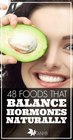 48 foods that balance hormones naturally. www.swisshealthmed.de