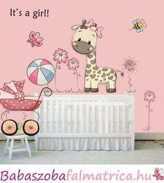 zsiráfos babaszoba falmatrica #zsiráf #babaszoba #falmatrica #kislány Toddler Bed, Family Guy, Pink, Fictional Characters, Home Decor, Art, Child Bed, Art Background, Decoration Home