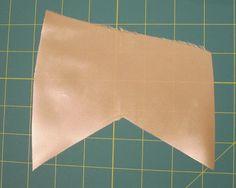 A Few Threads Loose: Bias tape: binding an inverted corner.