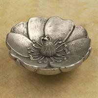 Anne At Home Cabinet Hardware Large Magnolia. Pewter With One of 38 Finishes 2246 Kitchen Cabinets In Bathroom, Magnolia Flower, Knobs And Pulls, Cabinet Knobs, Home Furnishings, Pewter, Decorative Bowls, Jewelry, Brushed Nickel