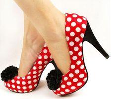 Minnie Mouse pumps