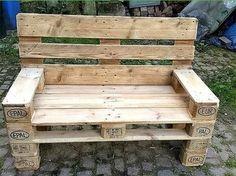 Idei de a transforma paletii din lemn in piese de mobilier pentru terasa