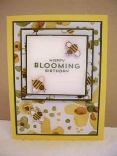 Stampin' Up! Garden in Bloom, English Garden dsp by D. Daisy - Cards and Paper Crafts at Splitcoaststampers