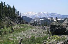Tahoe Rim Trail - details on access for this 165 mile long course. Either fastpack, or complete in sections.