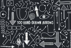 100-hand-drawn-arrows