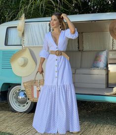 Dressy Casual Outfits, Casual Dresses, Dress Outfits, White Dress Summer, Summer Dresses, Afghan Dresses, Hippie Outfits, African Fashion Dresses, Chic Dress