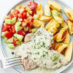Szynka w sosie chrzanowym | Kwestia Smaku Cobb Salad, Food, Essen, Meals, Yemek, Eten