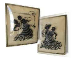 Wall Hanging Picture Silhouette Reverse by OxbowCreekExchange, $32.00