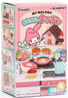 My Melody Re-Ment miniature blind box Hospitality Kitchen 2