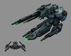 ArtStation - GOF2: Supernova ship concepts, Marc Nagel