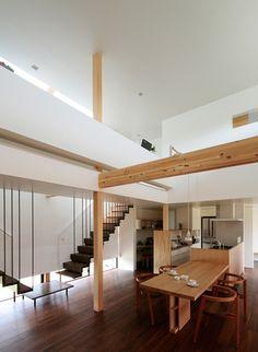 君津の家4 Loft, House, Furniture, Home Decor, Decoration Home, Home, Room Decor, Lofts, Home Furnishings