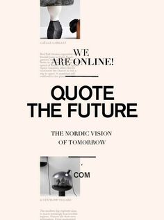 Finally me and my partners blog is online and we of Quote the...