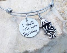 >>>Pandora Jewelry OFF! >>>Visit>> SALE - Bangle - Bracelet - Jewelry - Disney - Finding Nemo - I shall call him Squishy - Jelly Fish - Disney Jewelry - Disney Bangle Pandora Bracelets, Pandora Jewelry, Bangle Bracelets, Bangles, 14k Gold Initial Necklace, Letter Necklace, Cute Jewelry, Unique Jewelry, Jewelry Ideas