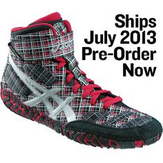 ASICS Aggressor LEs - Plaid wrestling shoes for the 2013 season...are you in?!