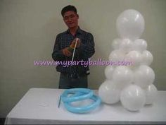 How to make ballon art angel