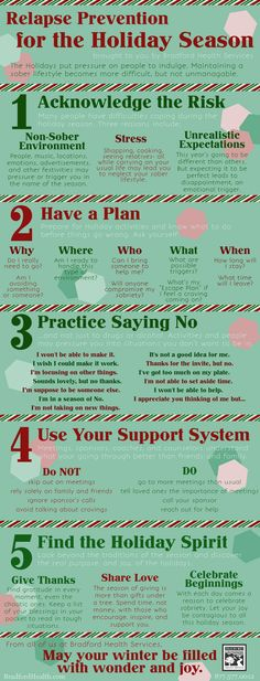Relapse Prevention for the Holiday Season Infographic & & a plan. Practice s& The post Relapse Prevention for the Holiday Season Infographic & & a plan. Practice s& & Addiction Inspiration appeared first on Sober living . Substance Abuse Counseling, Mental Health Counseling, Addiction Therapy, Addiction Recovery, Addiction Quotes, Therapy Worksheets, Therapy Activities, Group Activities, Fun Worksheets