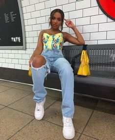 This outfit really looks good~Black natural hair For black woman ~ - Human hair lace wig /bundles on sale Best Pic - Oufits Casual, Baddie Outfits Casual, Cute Swag Outfits, Dope Outfits, Stylish Outfits, Girl Outfits, Fashion Outfits, Summer Outfits Women Over 40, Spring Outfits