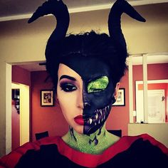 #Halloween makeup: DISNEY VILLAIN DAY SEPHORAWEEN! by veebird. Tag your pics with #SephoraSelfie for a chance to be featured!