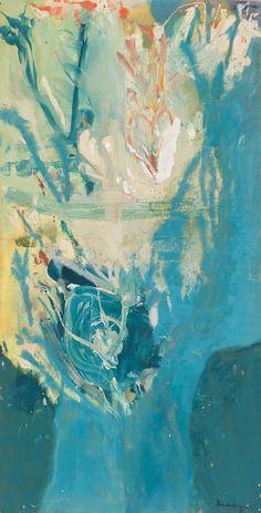 No Brash Festivity, nobrashfestivity: Helen Frankenthaler Helen Frankenthaler, Joan Mitchell, Robert Rauschenberg, Contemporary Abstract Art, Modern Art, Collage, Abstract Painters, Painting Inspiration, Illustration Art