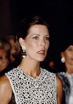 1993 - Caroline at the Red Cross Ball