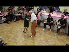 "Boogie Woogie Veteranen Turnier Landshut 2017 Musik ist von Johan Blohm and The Refreshments ""down the road apiece"" Line Dance, Show Dance, Couples Âgés, Elderly Couples, Zumba, Bailar Swing, Dance Like This, Rockabilly, Remembering Dad"