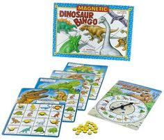 Magnetic Dinosaur Bingo >>> This is an Amazon Affiliate link. You can get additional details at the image link.
