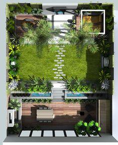 A small garden design in london