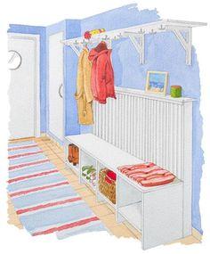 Bygg bänk och elementskydd i ett - Fixa - Hus & Hem