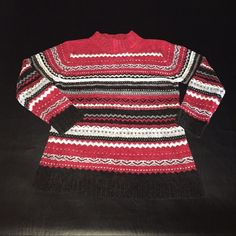 Cabin Creek Chenille Sweater Petite Small. Worn twice. Excellent Condition. Super soft. Perfect for the holidays and staying cozy on cold days! Cabin Creek Sweaters Cowl & Turtlenecks
