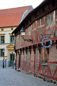 Ystad, in Skåne province.  #scania #svezia #architettura #mattoni