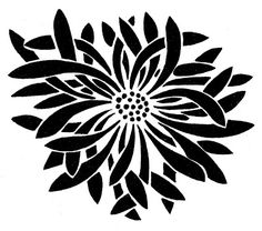 Flower Graphics - Beautiful Asian Designs - The Graphics Fairy