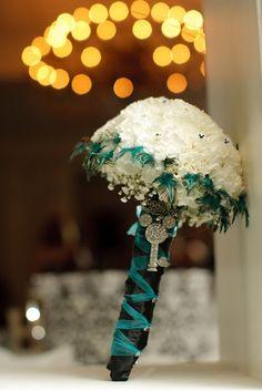 Bouquet - At-Home Disney Wedding: Amber + Thomas | Magical Day Weddings | A Wedding Atlas Fan Site for Disney Weddings