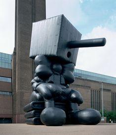 Paul Mcarthy's Blockhead Tate Modern