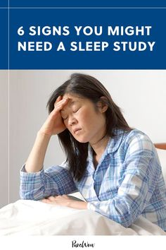 If your a.m. routine is mostly trying to pry your eyes open and you never feel well-rested, you may need a sleep study. Here are the signs. #sleep #sleepstudy #rest How To Fall Asleep Quickly, Sleep Studies, Cognitive Behavioral Therapy, Brain Activities, Sleep Apnea, Feel Better, How To Stay Healthy, Health And Wellness