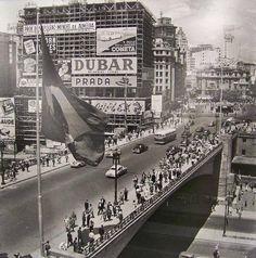 São Paulo - Viaduto do Chá 1950