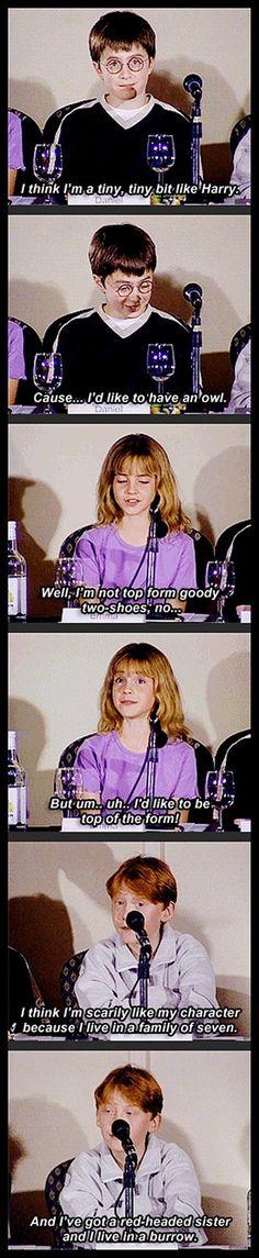 Tiny HP actors.  Emma's second expression.  <3