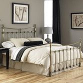 Found it at Wayfair - Leighton Metal Bed $474 ($190 headboard only)
