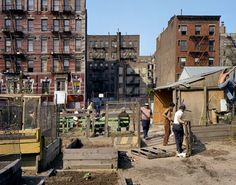 Street, 1980 film) -- © Brian Rose/Ed Fausty While working on a grant application having to do with urban farming and gardens I went back to my archive of unscanned Lower East Side photographs from New York Poster, New York City Pictures, New York Photos, Vintage New York, New York Photography, Vintage Photography, New York Decor, Lower East Side Nyc, New York Wallpaper