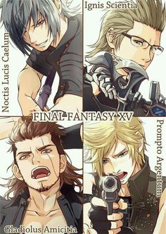 Find images and videos about final fantasy xv on We Heart It - the app to get lost in what you love. Arte Final Fantasy, Final Fantasy Characters, Final Fantasy Artwork, Fantasy Series, Final Fantasy Xv Prompto, Manga Anime, Anime Guys, Final Fantasy Collection, Manga Games