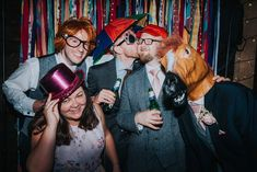 Thomasand Lisa's Fun Filled Rustic Barn Wedding With a Petting Zoo by This and That Photography