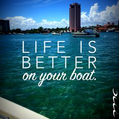 Marine Connection of South Florida knows #lifeisbetteronyourboat, especially when on #LakeBoca.
