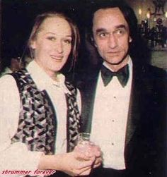 With John Cazale in 1976. Her Love before Don Gummer.