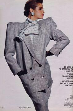 80s Armani Cindy Crawford