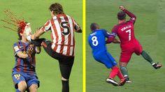 Pelanggaran Terkeras Yang Dialami Cristiano Ronaldo & Lionel Messi