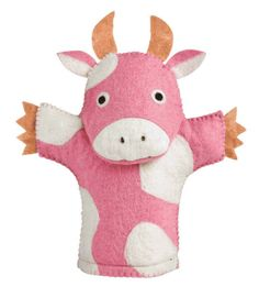 Felt Hand Puppets - 5 Animals to Choose From!