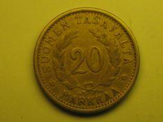 20 markkaa 1938, R117